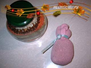 Крупеничка - народная кукла-оберег на сытость и богатство
