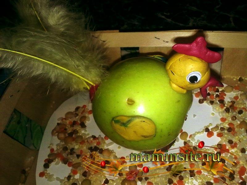 Поделки на яблочный спас своими руками пошагово 47