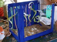 Как сделать водоросли для аквариума своими руками