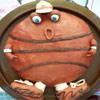 Торт забавный баскетбол