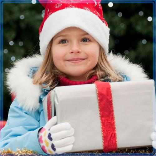 Бесплатный подарок для ребенка на новый год