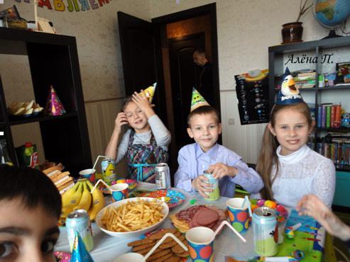 День рождения ребенка в стиле Angry Birds