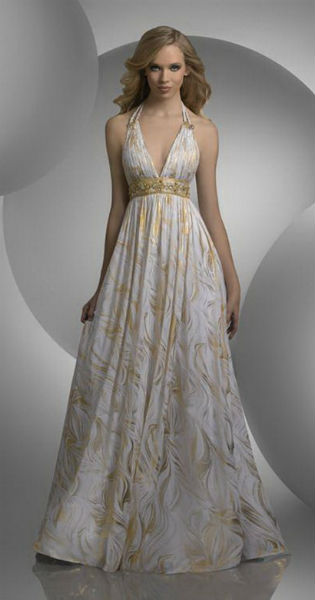Модные вечерние платья весна-лето 2012
