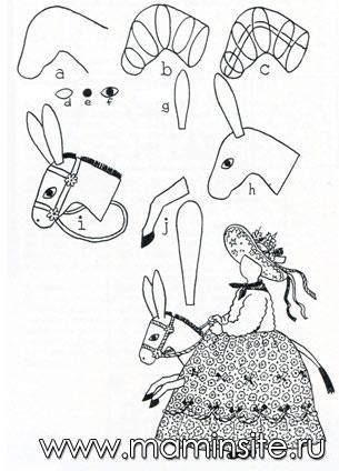 Карнавальный костюм лошади своими руками