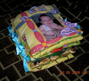 Книга о ребенке своими руками фото