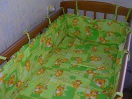 Постельное белье для детских кроваток своими руками 81