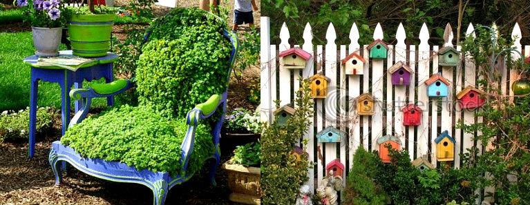Креатив на даче и в саду своими руками