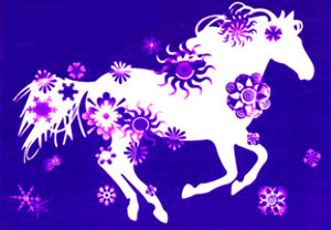 Новый 2014 год нагрянет к нам под покровительством Синей Деревянной Лошади